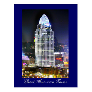 Great American Tower at Queen City Square Postcard