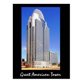 Great American Tower at the Queen City Postcard