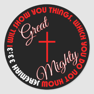 Great and Mighty Stickers