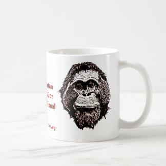 Great Ape Rescue and Rehabilitation Basic White Mug