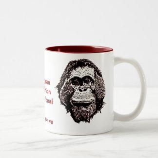 Great Ape Rescue and Rehabilitation Two-Tone Mug