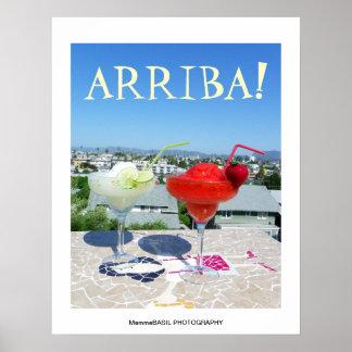 Great Arriba Margarita Poster! Poster