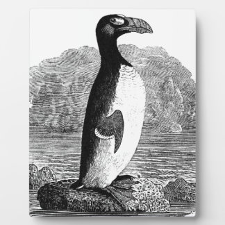 Great Auk Wood Engraving Plaques