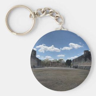 Great Ball Court, Chichen Itza Keychain