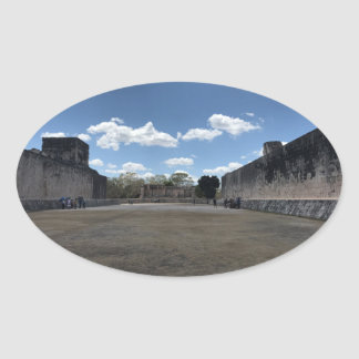 Great Ball Court, Chichen Itza Stickers