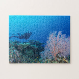 Great Barrier Reef Coral Sea Ocean Jigsaw Puzzle