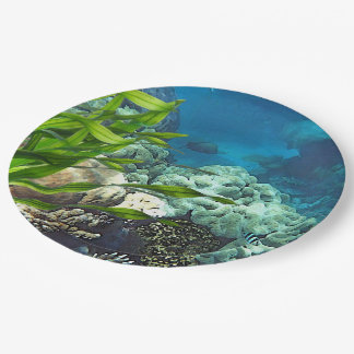Great Barrier Reef Paper Plate