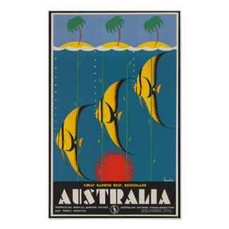 Great Barrier Reef, Queensland, Australia Poster