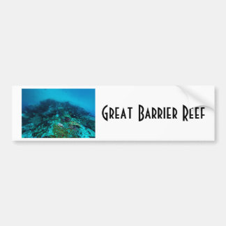 Great Barrier Reef Tropical Fish Coral Sea Bumper Sticker