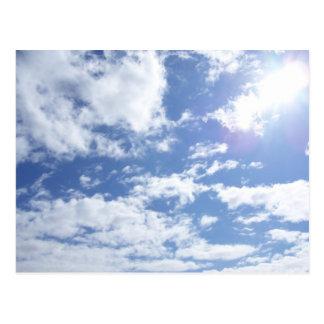Great Big Sky with a bit o' sun Postcard