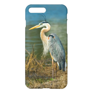 Great Blue Heron at the Pond iPhone 7 Plus Case
