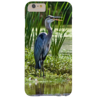 Great Blue Heron Bird at the Pond Barely There iPhone 6 Plus Case