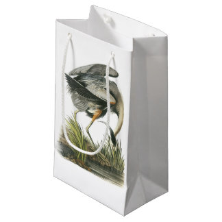 Great Blue Heron by Audubon Small Gift Bag