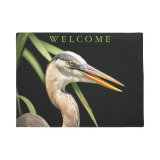 Great Blue Heron Doormat