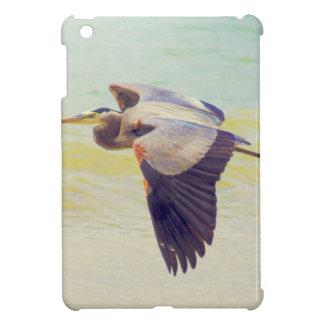 Great blue heron iPad mini cases