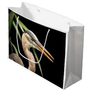 Great Blue Heron Large Gift Bag