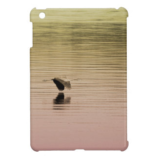 Great Blue Heron on Gradient Background Case For The iPad Mini