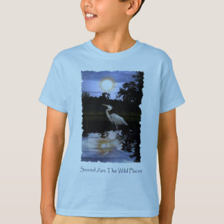 GREAT BLUE HERON T-shirts & Tops