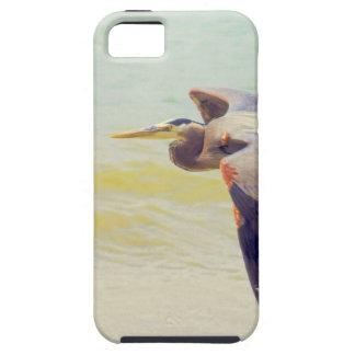 Great blue heron tough iPhone 5 case