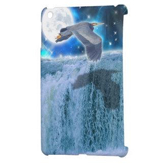 Great Blue Heron Wildlife Fantasy Designer Case iPad Mini Cover