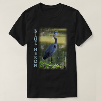 Great Blue Heron Wildlife Tshirt