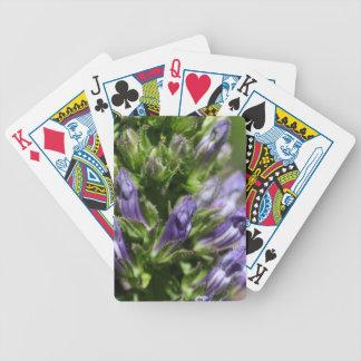 Great Blue Lobelia (Lobelia siphilitica) Bicycle Playing Cards