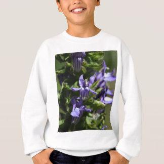 Great Blue Lobelia (Lobelia siphilitica) Sweatshirt