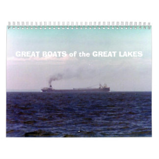 GREAT BOATS of the GREAT LAKES Wall Calendars