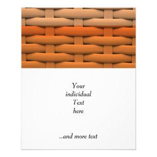 great braided basket,orange stripes flyers