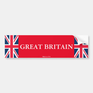 Great Britain Bumper Sticker