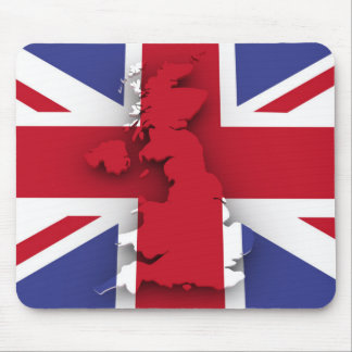 Great Britain country flag Mouse Pad