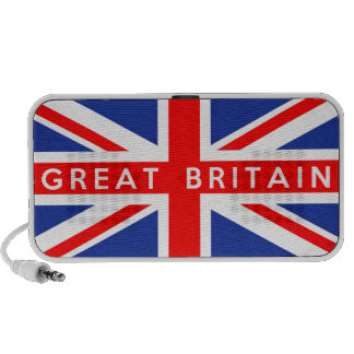 great britain country flag symbol name text portable speakers