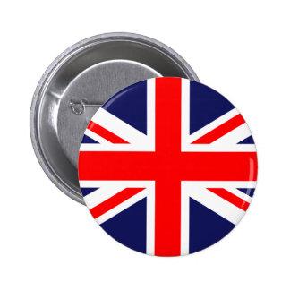 Great Britain Flag 6 Cm Round Badge