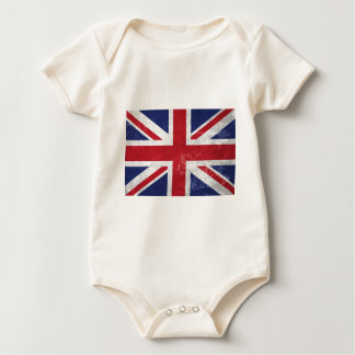 Great Britain Flag Baby Bodysuit