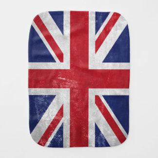 Great Britain Flag Burp Cloth