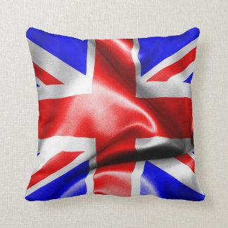 Great Britain Flag Throw Pillow