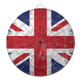 Great Britain Flag Dartboard