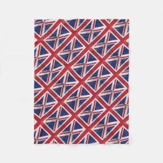 Great Britain Flag Fleece Blanket