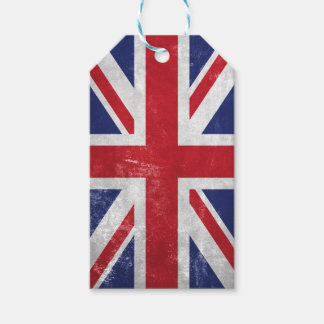 Great Britain Flag Gift Tags