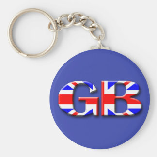 Great Britain Flag Key Ring