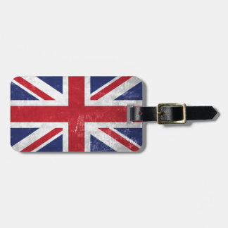 Great Britain Flag Luggage Tag