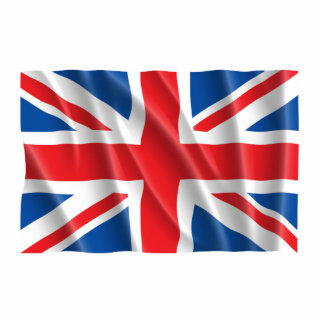 GREAT BRITAIN FLAG PHOTO CUT OUT