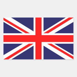 Great Britain Flag Rectangular Sticker