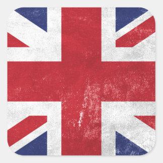 Great Britain Flag Square Sticker