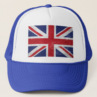 Great Britain Flag Trucker Hat