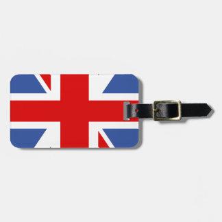 Great Britain Flag - UK - Union Jack Luggage Tag