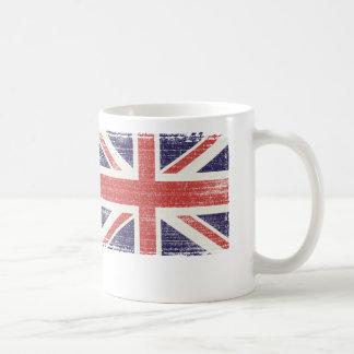 Great Britain flag vintage Coffee Mugs