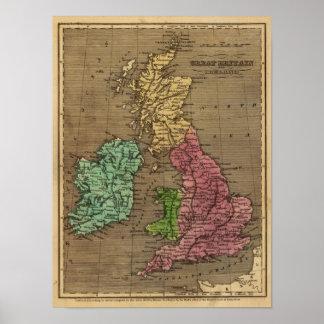 Great Britain, Ireland 2 Poster