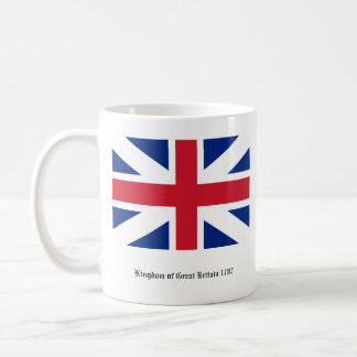 Great Britain Mug - England & Scotland Union Flag