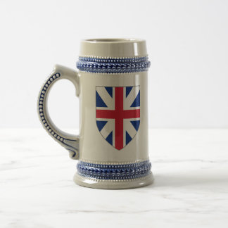 Great Britain Stein - 1707 Union Flag Shield
